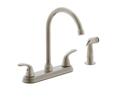 Kitchen Faucet, Brushed Nickel