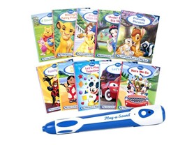 Point-and-Play with Disney 10-Book Library