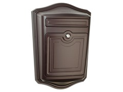 Maison Locking Wall Mount Mailbox, Bronze