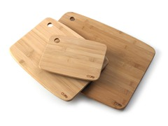Core Bamboo Solid Cutting Board Set