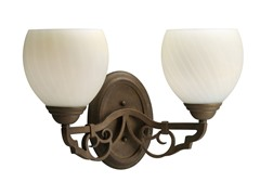 2-Light Meeting Street Bath Bracket, Roasted Java