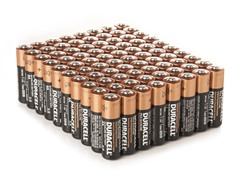 AA Alkaline Batteries - 80 Pack