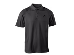 HEAD Men's Net Performance Polo, Black