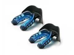 Shock Doctor Mouthguard 2pk - Black/Blue