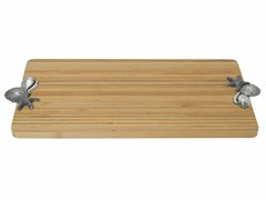 Thirstystone Sea Shells Bamboo Serving Board