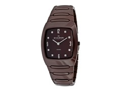Women's Burgundy Ceramic Watch