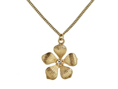 Relic RJ2307715 Gold Necklace Flower Pendant