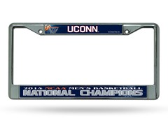 UConn NCAA Champs License Plate Frame