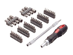 58-Piece Ratchet Driver and Bit Set