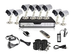 8CH, 8-Camera H.264 DVR System w/1TB HDD