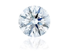 Round Diamond 0.90 ct G SI1 with GIA report