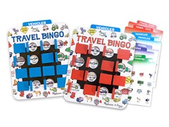 Flip to Win Travel Bingo Game