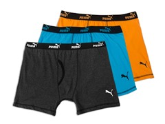 Puma Boxer Briefs 3-Pack, Bright Combo