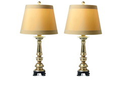 Brantwood Table Lamp 2-Pack with Shades
