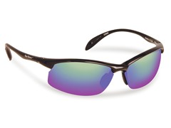 Breaker Polarized, Black/Amber-Green