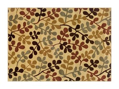 Olivia Area Rug Ivory/Green - 5 Sizes