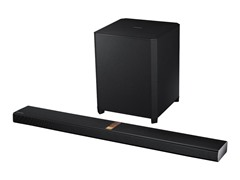 "Samsung 4.1CH Bluetooth Soundbar with 8"" Wireless Sub"