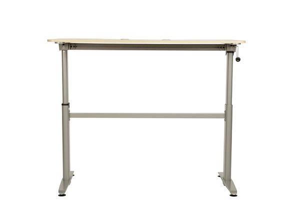 cool living aluminum stand up desk or chair your choice