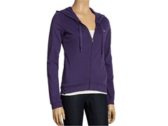 Women's Lotus Relaxed Hoodie - Purple