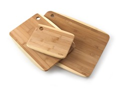 Core Bamboo Two Tone Cutting Board Set