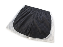 Black and White Pieced Shorts