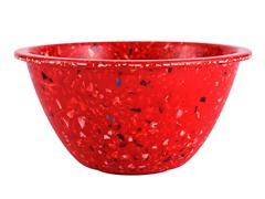 """Red Confetti 5.63"""" Bowls S/6"""