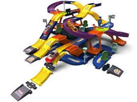 97-Pc 3D Grandprix Set w/ Storage