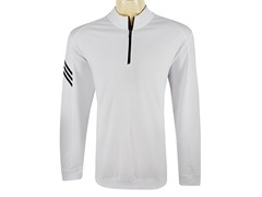 ClimaLite 3-Stripes Pullover, White(2XL)
