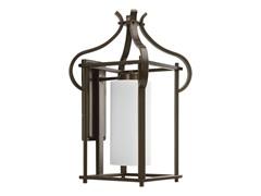1-Light Wall Lantern, Antique Bronze