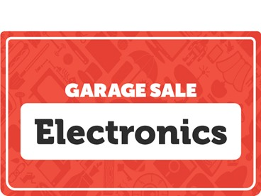 Electronics Garage Sale