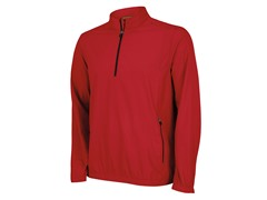 ClimaProof 1/2 Zip Jacket  - Red/Black
