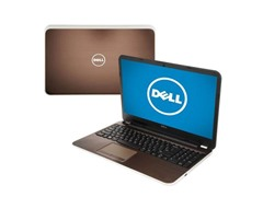 "Dell 15.6"" Quad-Core Laptop - Bronze"