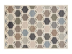 Ivory/Multi Griffin Geometric Rug 4-Sizes