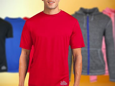 Men's Moisture Wicking Apparel