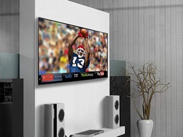 The Football Home Theater Experience