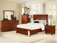 Michelle 6-pc Bedroom Set (3 Sizes)