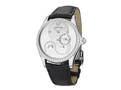 Women's Bressel White Diamond Silver/Black