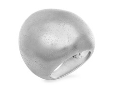 Stainless Steel Galaxy Cocktail Ring