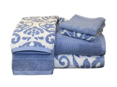Egyptian Cotton 6-Pc Towel Set-Royal