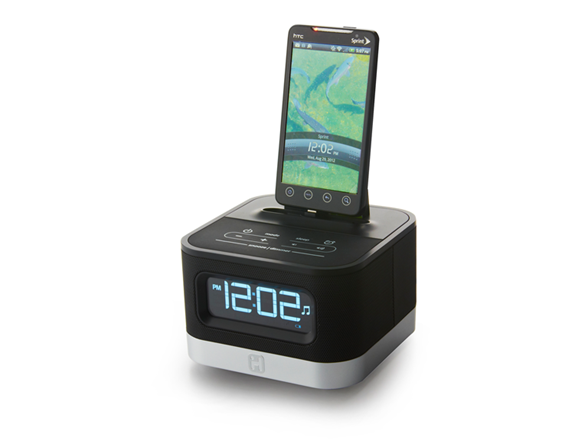 android alarm clock radio. Black Bedroom Furniture Sets. Home Design Ideas