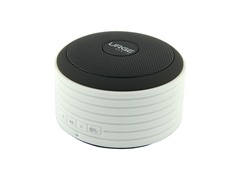 Sound Disc Bluetooth Speaker - White & Black