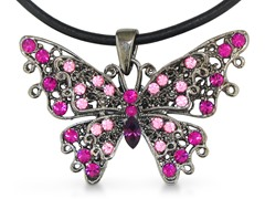 Swarovski Elements Crystal Pink Pendant