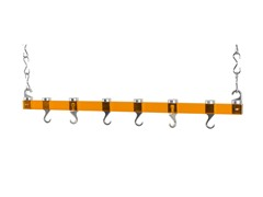 Acrylic Dual Track Ceiling Rack- Orange