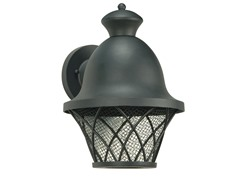 1-Light Outdoor LED, Textured Black