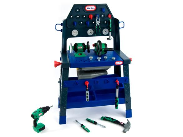 Little Tikes 2 In 1 Buildin To Learn Motor Workshop