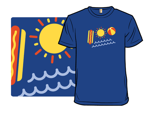 Image of 100 Degrees Of Summer T Shirt