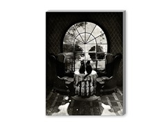 Room Skull BW (2 Sizes)