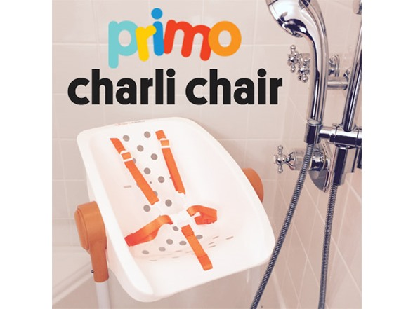 primo bathe baby in shower charli chair kids amp toys abc parents bathing a newborn in pictures