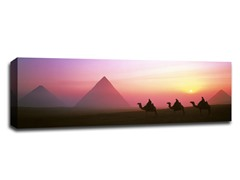 Giza Pyramids at Dusk Egypt