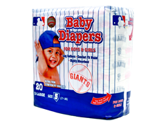 San Francisco Giants Diapers (160-192ct)